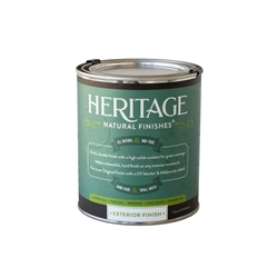 1 quart, Exterior Finish