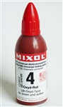 Mixol #04 Oxide Red - 20ml