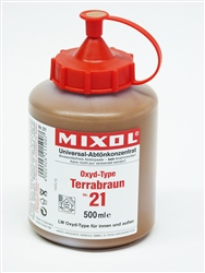 Mixol #21 Oxide Terra Brown - 500ml