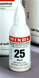Mixol #25 White - 20ml
