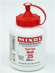 Mixol #25 White - 500ml
