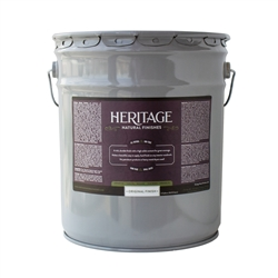 5 gallon pail, Original Finish