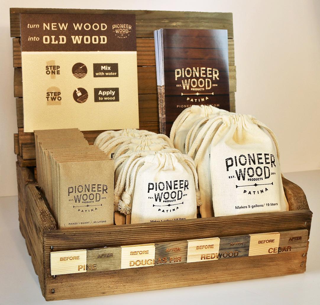 pioneer wood patina