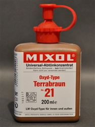 Mixol #21 Oxide Terra Brown - 200ml