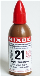 Mixol #21 Oxide Terra Brown - 20ml