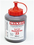 Mixol #23 Oxide Dark Brown - 500ml